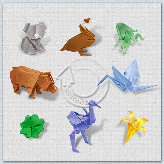 Origami Portfolio For Events Parties